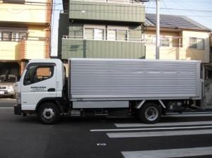 車輌(リンボー:車高2.3~3.0m可動式)